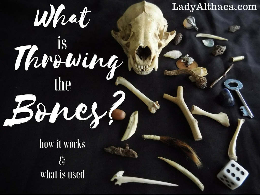What is Throwing the Bones?